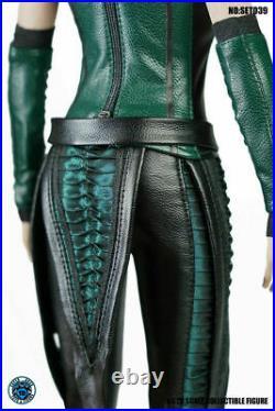 SUPER DUCK 1/6 SET039 Mantis Girl Outfit Clothes Set & Head Model Set Toys Pre