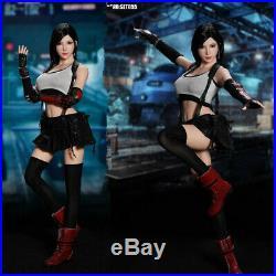SUPER DUCK 1/6 SET055 Fantasy Fighting Girl Clothing Costume & Head Carved Model