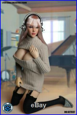 SUPER DUCK SET037 1/6 Scale Virtual Beauty Girl Action Figure Outfits Hot Toys