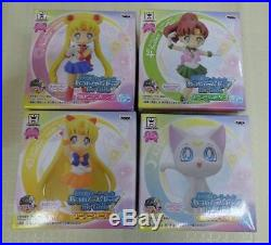Sailor Moon Atsumete Figure for Girls Lot of 16 Complete set Mini Figure Doll