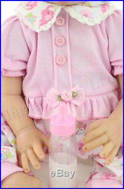 Simulation Doll Cute Baby Girl Silicone Soft Toys for Children Gift