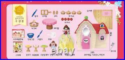 Snow White MIMI's Hut Cottage Apple Pie Barbie Doll Girls Role Play Toy Set
