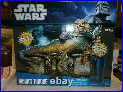 Star Wars Jabba's Throne with dancing girl Oola Hasbro 2010 toy accessory