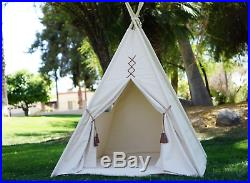 Teepee Tent For Kids Play House Indoor Outdoor Boys Girls Wigwam Playhouse Toy