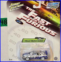 The Fast & Furious Paul Walker Nissan Skyline Custom White Lightning