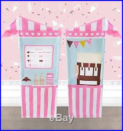 Tiny Land Ice Cream Cart for Kids, Play Tent for Girls Indoor 120cm tall, Toy