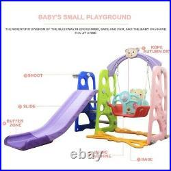 Toddler Climber Slide Play Swing Set Kids Indoor/Outdoor Playground Boy Girl Toy