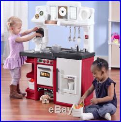 Toddler Kitchen Set Pretend Playset For Girls Boys Play Kids Coffee ...