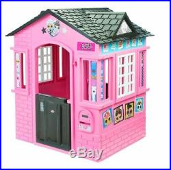 Toddler Playhouse Indoor Outdoor Cottage Kid Child Toy Play House Princess Girl