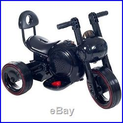 Toy Kids Ride On 3 Wheel Led Mini Motorcycle Trike For By Rockin Rollers Bat