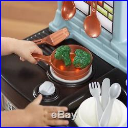 Toy Kitchen For Toddlers Boys Girls Kids Pretend Cooking Game Children Playset