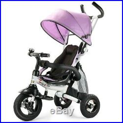 Tricycle For 2 Year Old To 5 Kids Bike Toddler Stroller Bicycle Learning Toy New