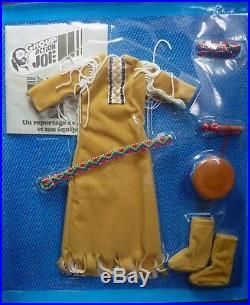 Vintage 1976 Indian Sioux Window Box set for Daina Group Action Joe Girl GI Joe