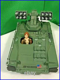 Vintage GI Joe Wolverine 1983 COMPLETE with Cover Girl File Card Tow Cable ARAH