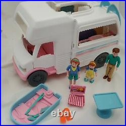Vintage Loving Family Dollhouse RV VACATION CAMPER MOTOR HOME Boat 1998 COMPLETE