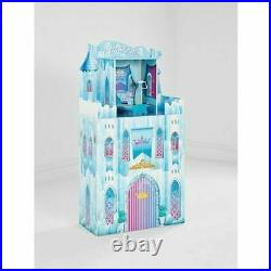 Wooden Princess Castle Toy Dolls House Girls Birthday Gift Childrens Play Set