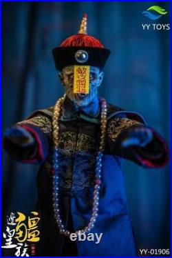 YY TOYS 1/6 Frontier Royalty Zombie Qing Dynasty Ancient Figure Model